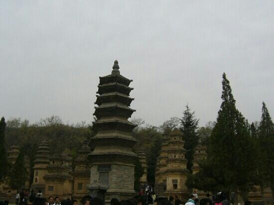Pagoda Forest of Shaolin Temple: 嵩山塔林