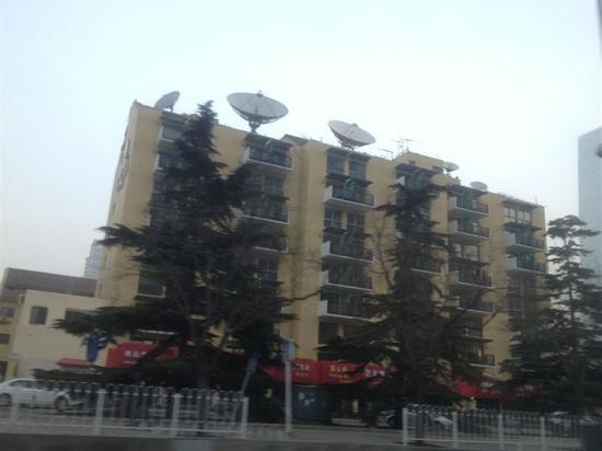 جيانجو هوتل بكين:                   建国饭店                 