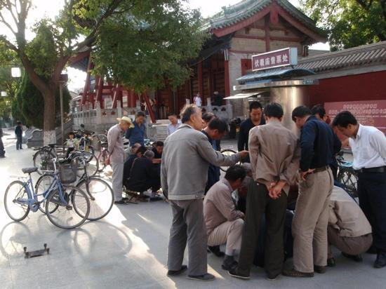 Fuxi Temple: 庙门侧影