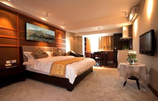 Yueting Apartment Hotel Chengdu Xi'nian: 照片描述