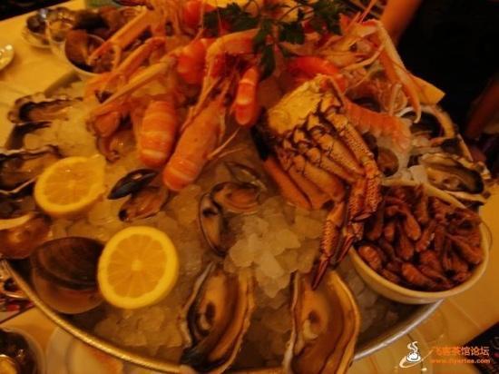 Café de la Paix : seafood拼盘