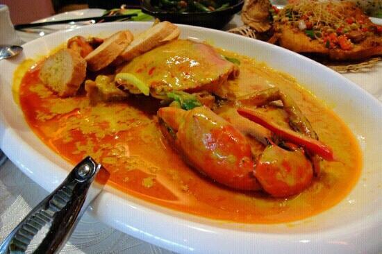 JiaoYe BeiJing ( Sanlitun Dian ): 超爱咖喱蟹