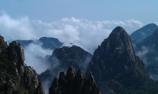 Mt. Huangshan (Yellow Mountain): 那是一个美啊仙镜!