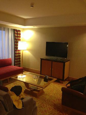 Renaissance Shanghai Yangtze Hotel: 客厅