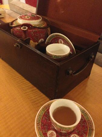 Renaissance Shanghai Yangtze Hotel: 客房欢迎茶水