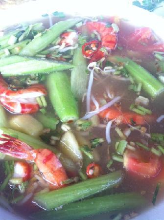 Thanh Thuy Blue Water Restaurant: 大虾酸汤