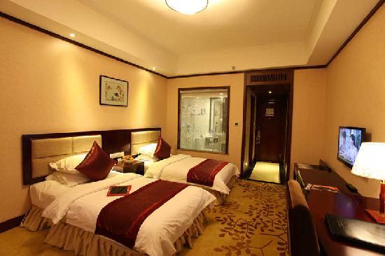 Jiali International Hotel: 豪华双床房