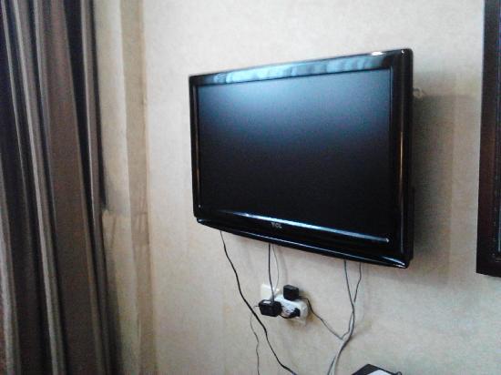 Ju Chun Yuan Hotel: 电视机