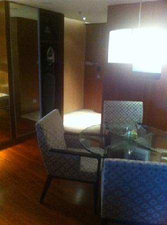 Sheraton Grand Beijing Dongcheng Hotel: 客厅