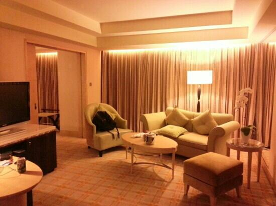 JW Marriott Hotel Beijing: 套房客厅