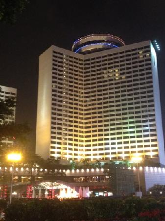 The Garden Hotel Guangzhou: 夜景