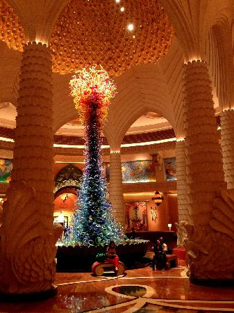 Atlantis, The Palm: lobby