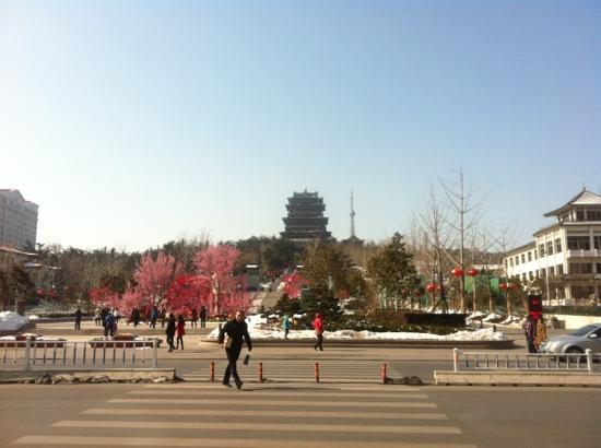 Weihai Huancui Tower Park