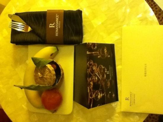 Renaissance Shanghai Putuo Hotel&A Marriott Luxury&Lifestyle Hotel: 明捷的水果