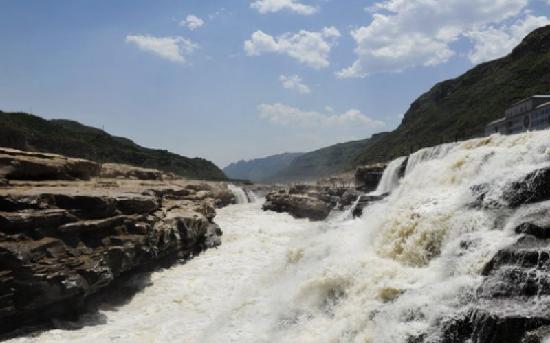 Hukou Waterfall: 壶口瀑布