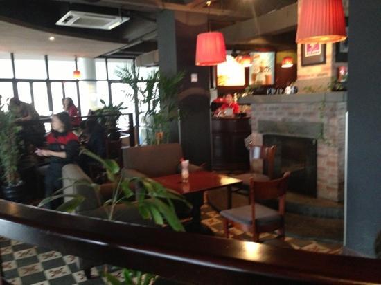 Highlands Coffee: 咖啡店内