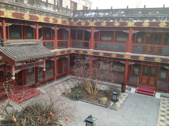 Han's Royal Garden Hotel: 四合院内