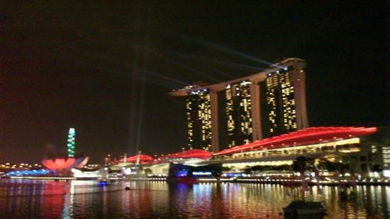 Marina Bay Sands: 金沙夜景