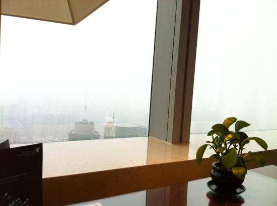 JW Marriott Hotel Shanghai at Tomorrow Square: Deluxe Room view