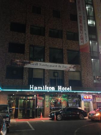 Hamilton Hotel Seoul: Exterior