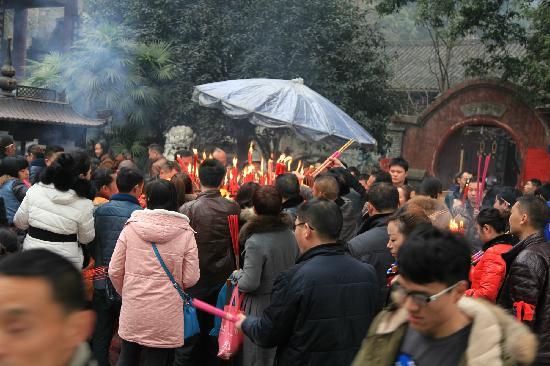 Gaotang Temple: jixi
