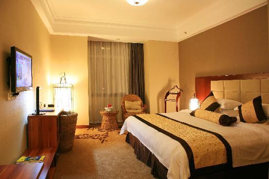 Shang Xun Hotel: 豪华套房卧室
