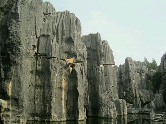 Jianfengchi (Sword Peak Pond): 石林景点剑峰池