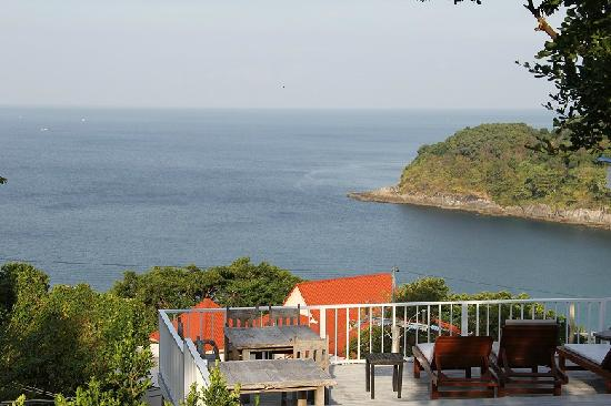 Secret Cliff Resort: 从酒店真正的海景房看海的样子