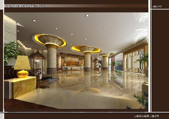 Golden Phoenix Hotel : 大堂