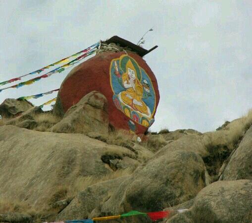 Pabangka Monastery : 帕邦喀外的佛像