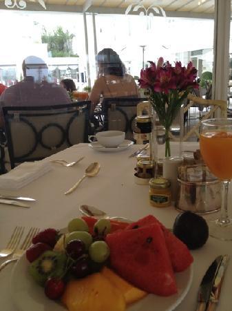 Belmond Copacabana Palace:                   早餐