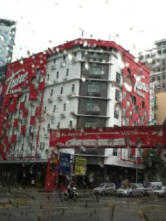 โรงแรมจูน - ดาวน์ทาวน์กัวลาลัมเปอร์:                   吉隆坡中心的 tune