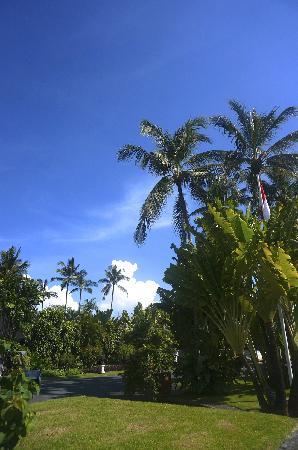 Club Med Bali: 酒店大门