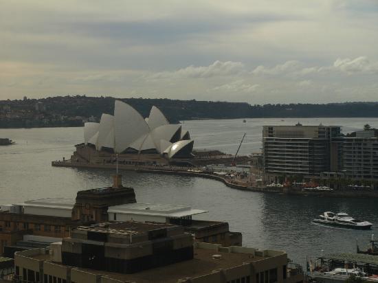 Shangri-La Hotel Sydney: 俯视悉尼歌剧院