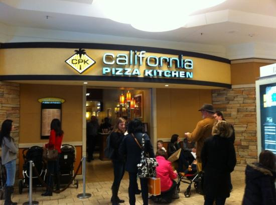 California Pizza Kitchen Large Menu With Something For Everyone