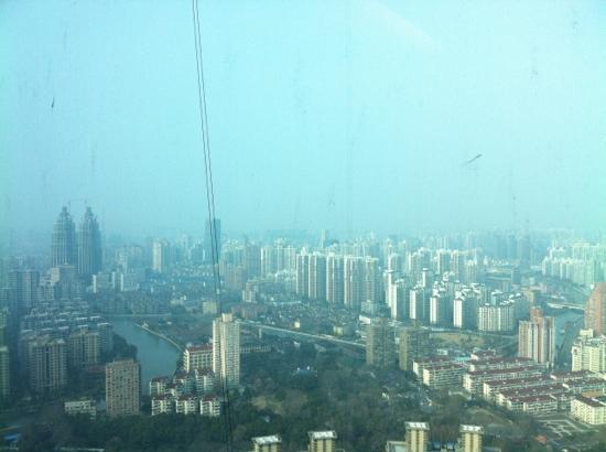 Renaissance Shanghai Zhongshan Park Hotel: 外墙该洗了