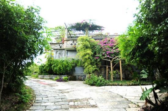 No.1 Yard Hotel Yangshuo: 一号大院入口处