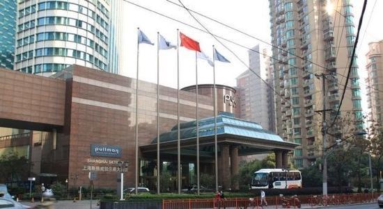 Pullman Shanghai Skyway Hotel:                   门口