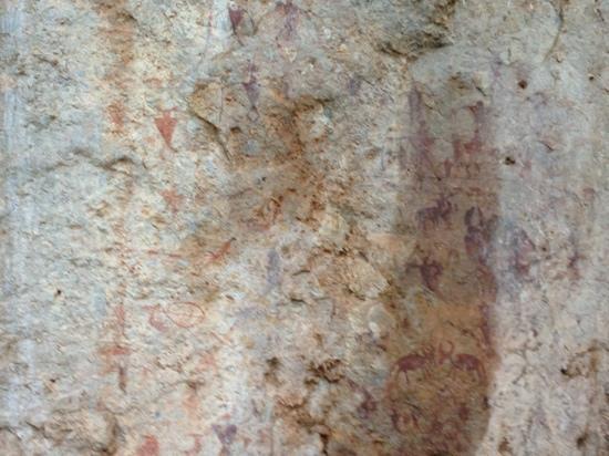 Cangyuan Rock Paintings: 1号崖画