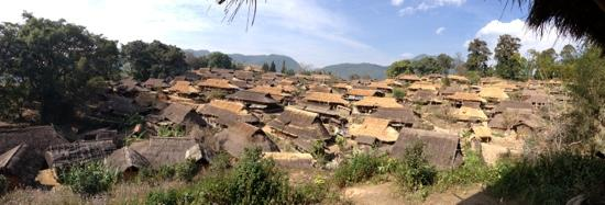 Wengding Wa Nationality Gregarious Village: 全景
