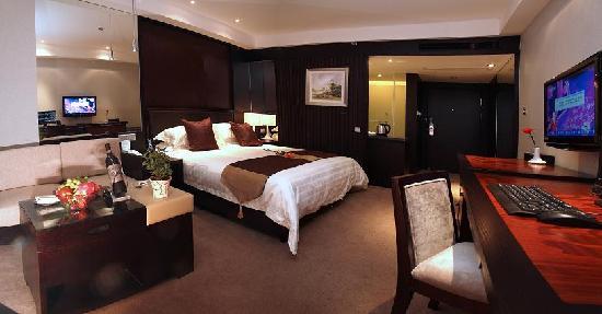 Shuguang Yunsong Hotel: 高级大床间