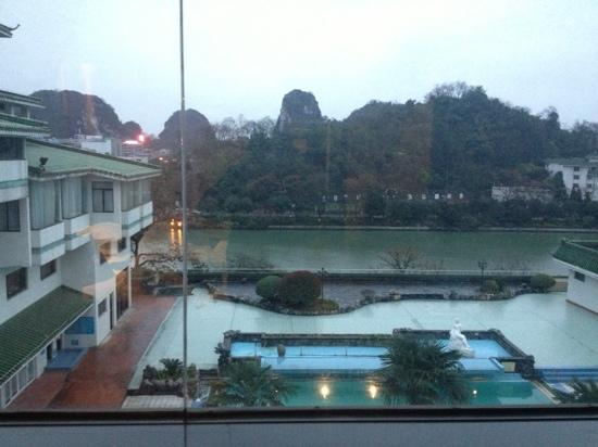 Guilin Park Hotel:                   阳台