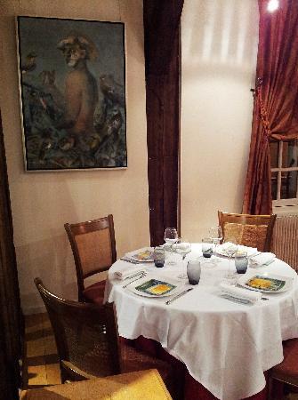 Le Champ Des Oiseaux:                   酒店附近的餐厅