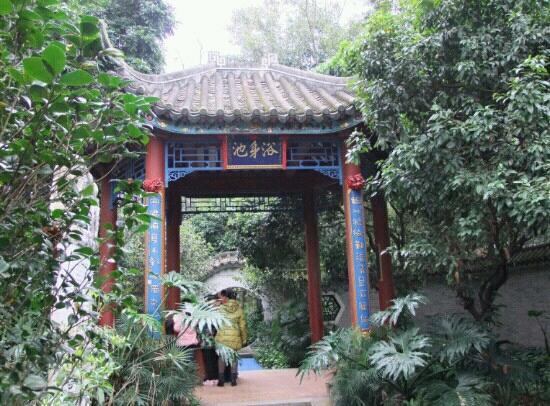 Guo'en Temple:                   寺内