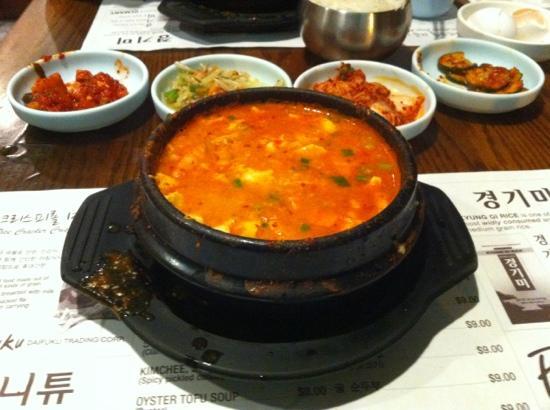So Kong Dong: 海鲜豆腐汤