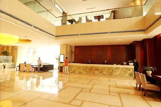 Flower Hotel Shaoxing: 大厅