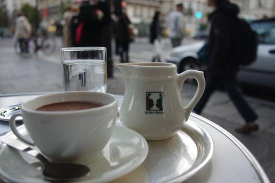 Cafe Les Deux Magots: Chocolate