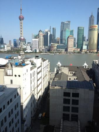 Waldorf Astoria Shanghai on the Bund: 新楼的江景房