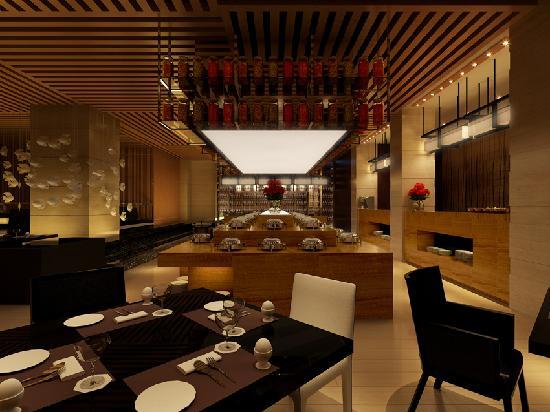 Manhattan.Kinlen Hotel: 西餐厅餐台
