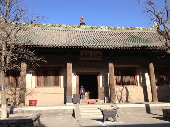 Shuanglin Tempel: 寺内